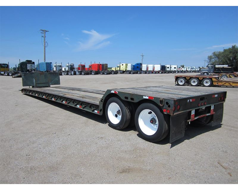 Double Drop Trailer : Rgn double drop trailers for sale autos post