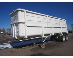 Lufkin End Dump Semi Trailer