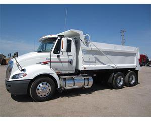 International ProStar Heavy Duty Dump Truck