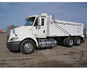 International ProStar Heavy Duty Dump Truck