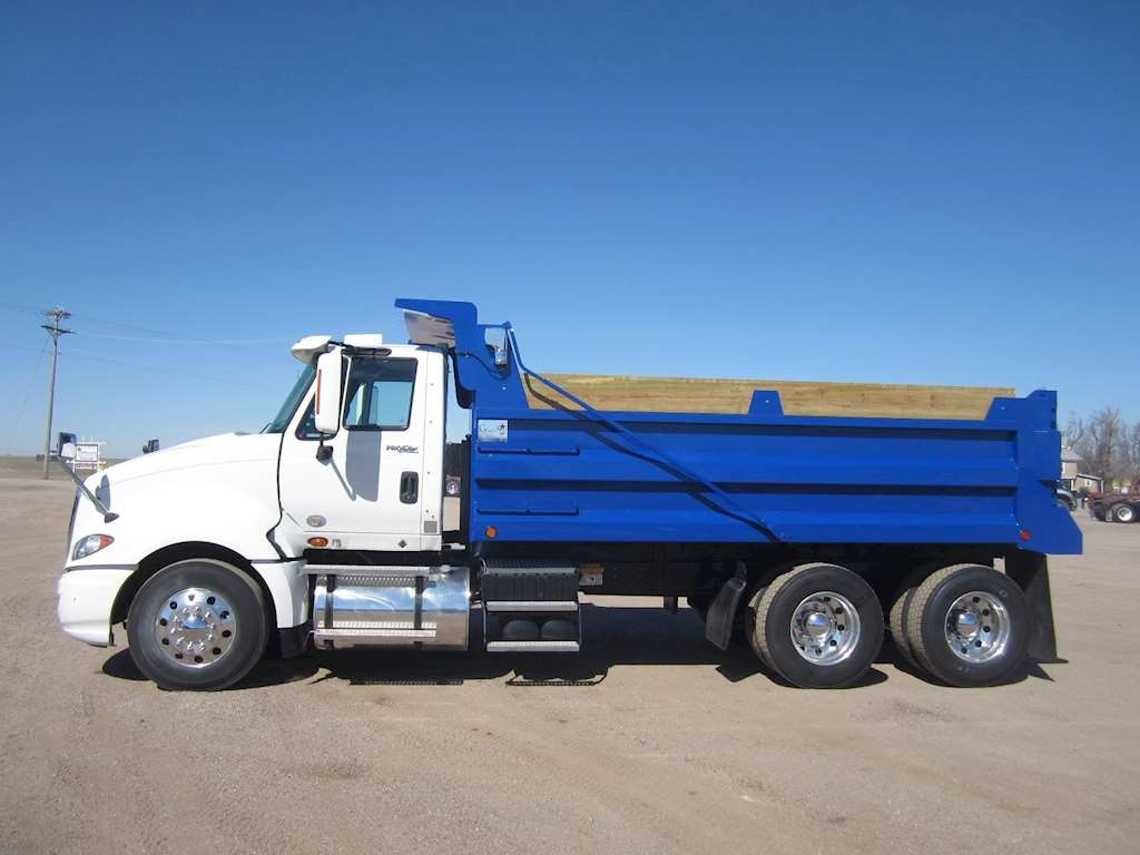 2011 international prostar heavy duty dump truck for sale 188 000 miles sawyer ks 0996. Black Bedroom Furniture Sets. Home Design Ideas