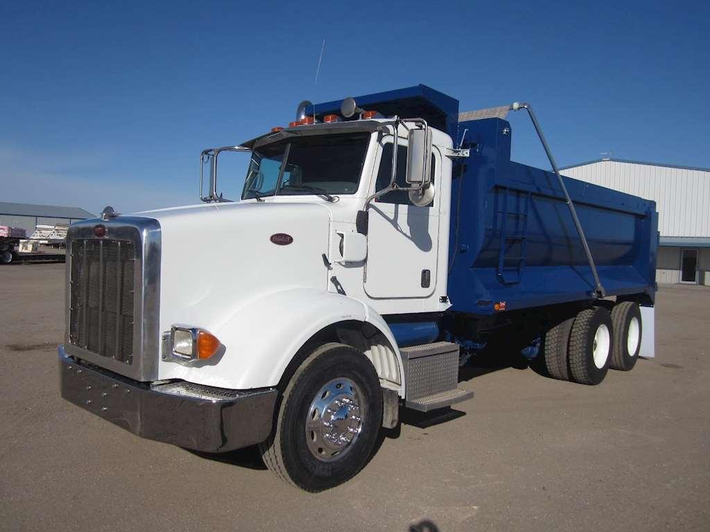 2008 peterbilt 365 heavy duty dump truck for sale 61 000 miles sawyer ks 9025108. Black Bedroom Furniture Sets. Home Design Ideas