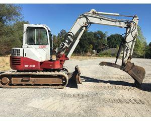 2009 Takeuchi TB180 Excavator