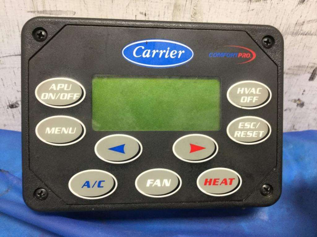 Semi Truck Control Panel : Carrier control panel apu for a freightliner columbia