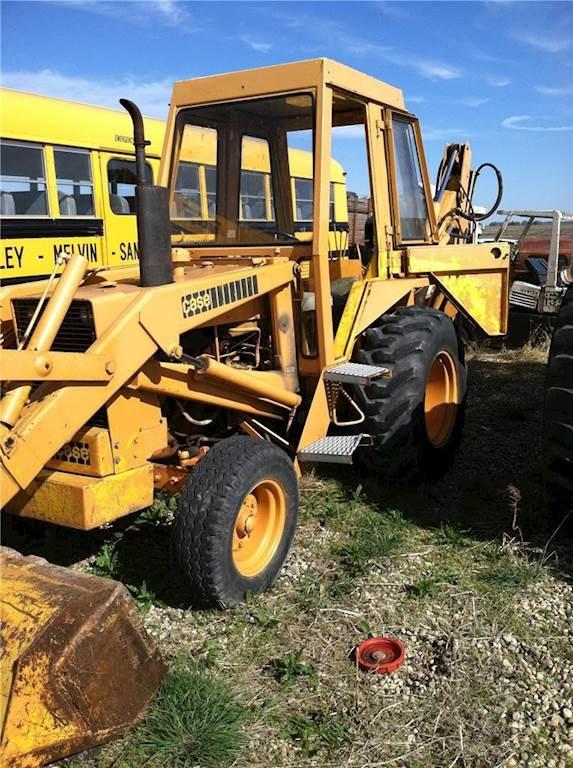 1974 CASE 580B Loader Backhoe Being Dismantled | Spencer, IA