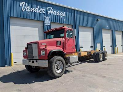 1999 International Paystar 5000 Tandem Axle Cab & Chassis Truck - DT530,  300HP, Manual