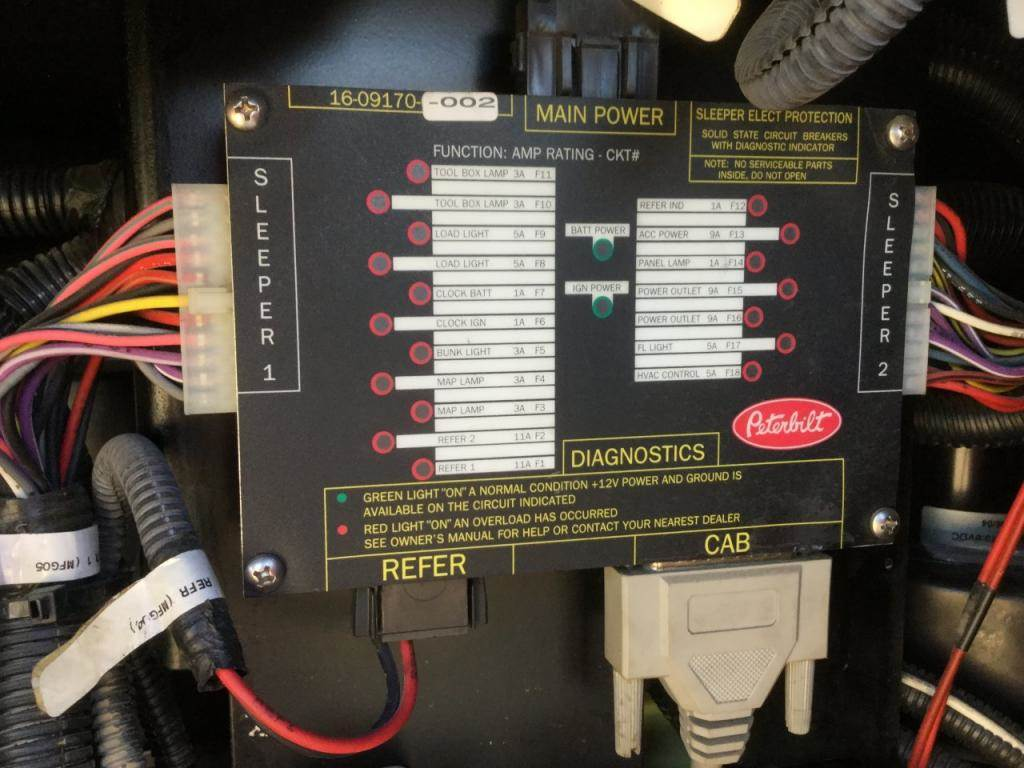 2006 Peterbilt 387 Cab Control Module Cecu For Sale