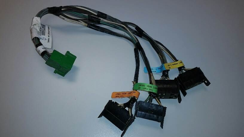 2010 Kenworth T660 Cab Wiring Harness For Sale