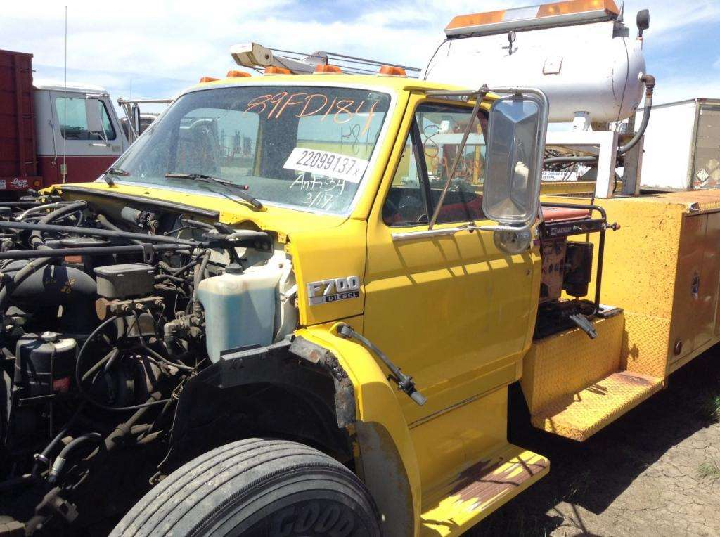 1989 Ford F-700 Salvage Truck For Sale | Hudson, CO | 138748 ...