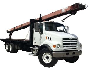 Sterling LT8511 Crane Truck
