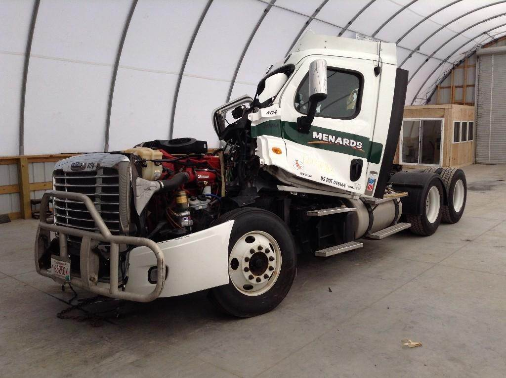 2012 Freightliner CA11364DC - CASCADIA Day Cab Truck Being