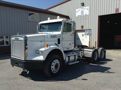 2008 Freightliner Fld120 Tandem Axle Day Cab Truck Mercedes Mbe4000