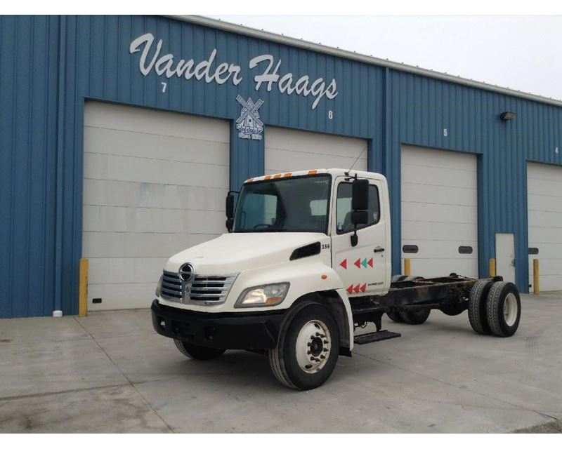 2008 hino 338 day cab truck for sale des moines ia. Black Bedroom Furniture Sets. Home Design Ideas
