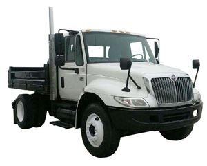International 4300 Day Cab Truck