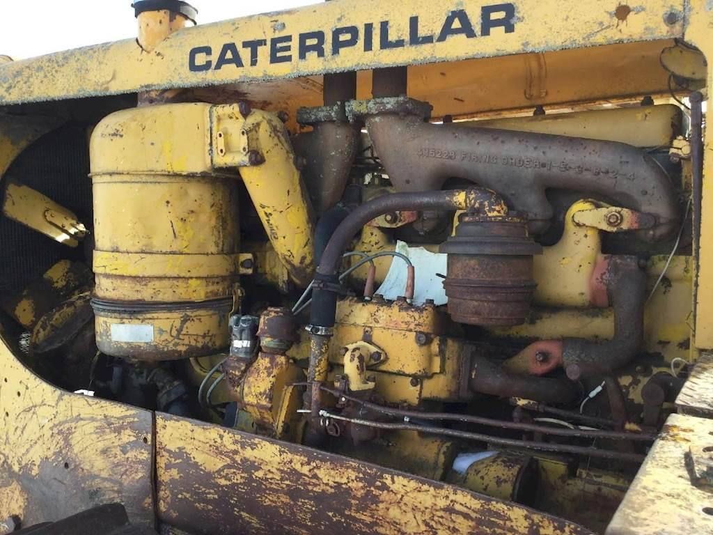 1957 Caterpillar D8 Dozer Being Dismantled | Spencer, IA