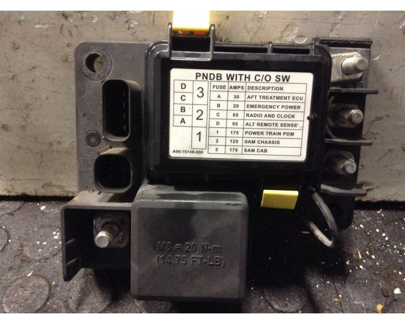 Electrical Misc. Parts Freightliner CASCADIA 3384950 freightliner fuse boxes & panels for sale mylittlesalesman com 2000 freightliner classic fuse box location at crackthecode.co