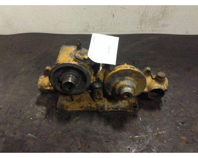 2000 caterpillar c12 engine oil filter base for sale ... c 12 cat fuel filter hosing #13