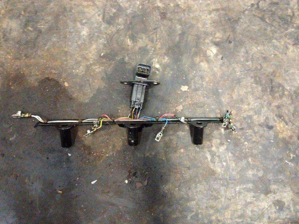 Isuzu Engine Wiring Harness Bmw 2 8 Wire Suspension 1988 Truck 4hk1t For Sale Spencer Ia 24417257 On