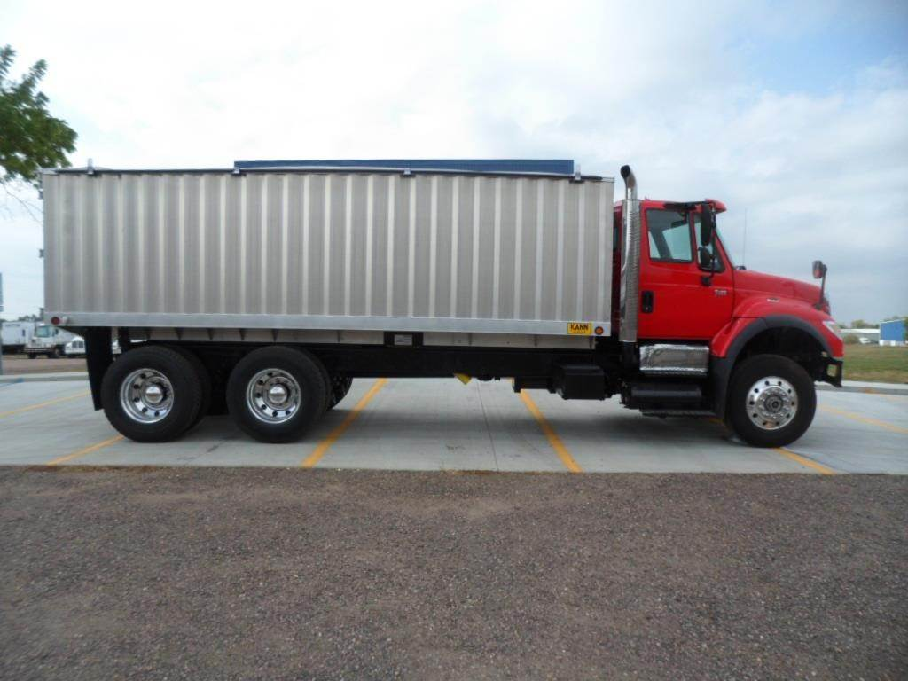 Grain Trucks For Sale >> 2006 International 7600 Farm Grain Truck For Sale 368 535 Miles