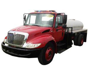 International 4300 Fire Truck