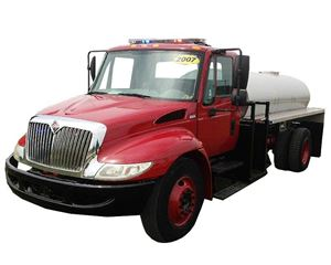 International 4300 Fire Truck