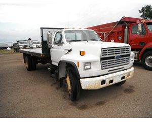 Ford F-700 Flatbed Truck