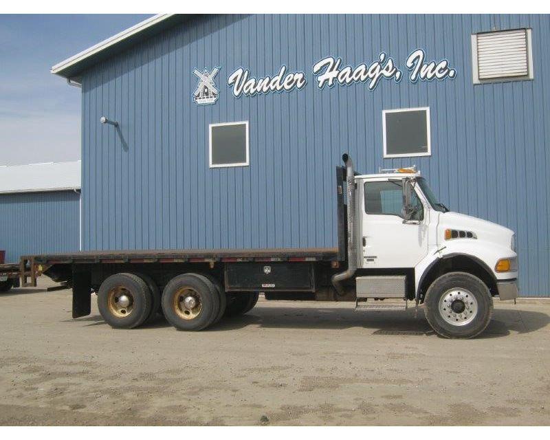 2005 sterling acterra 8500 flatbed truck for sale des moines ia. Black Bedroom Furniture Sets. Home Design Ideas
