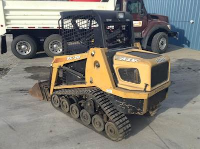2005 asv rc 30 forestry mulcher for sale des moines ia 05re255