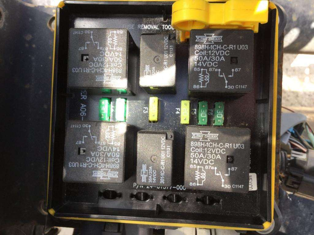 2008 Freightliner M2 106 Fuse Box For Sale  243 000 Miles