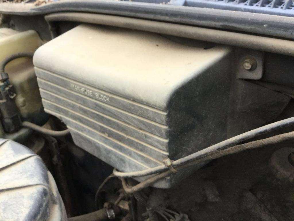 1991 gmc topkick fuse box for sale, 121,000 miles ... 1991 gmc fuse box diagram 1991 gmc fuse box