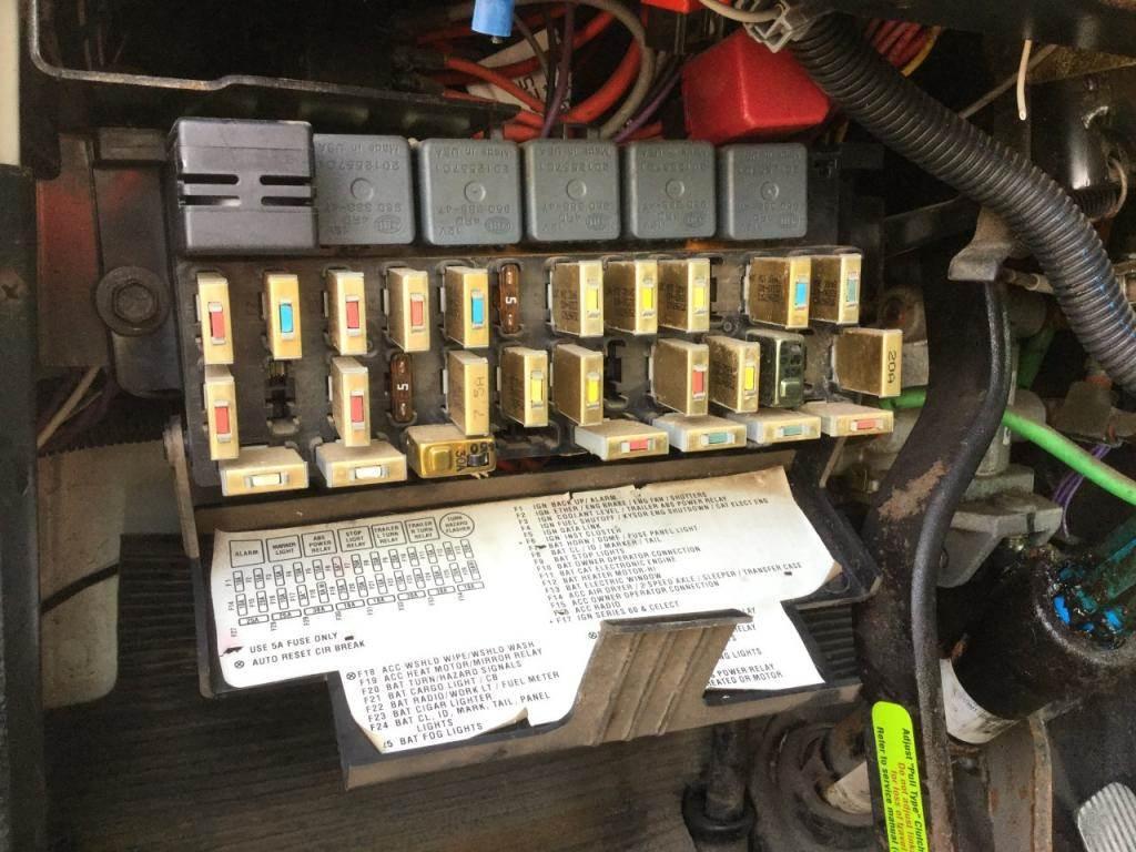 8100 Electrical Fuse Box Diagram Wiring Diagrams International Trusted U2022 Transformer
