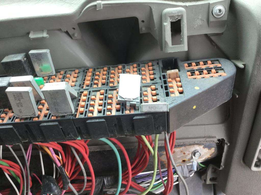2011 International ProStar Fuse Box