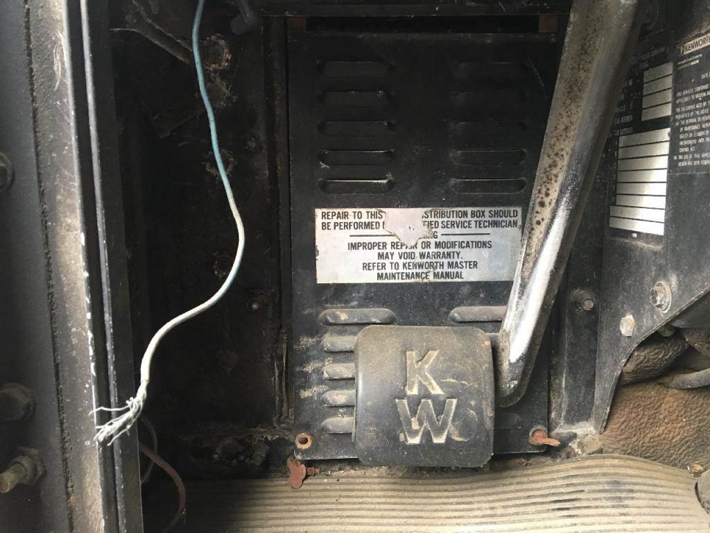Kenworth Fuse Box Auto Electrical Wiring Diagram 1988 Corvette T600 For Sale