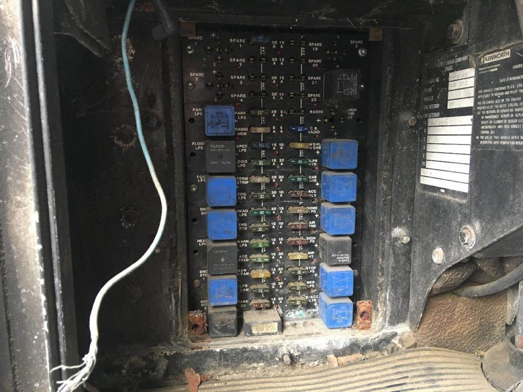 kenworth t600 fuse box kenworth k300 fuse box 1988 kenworth t600 fuse box for sale | sioux falls, sd ... #8
