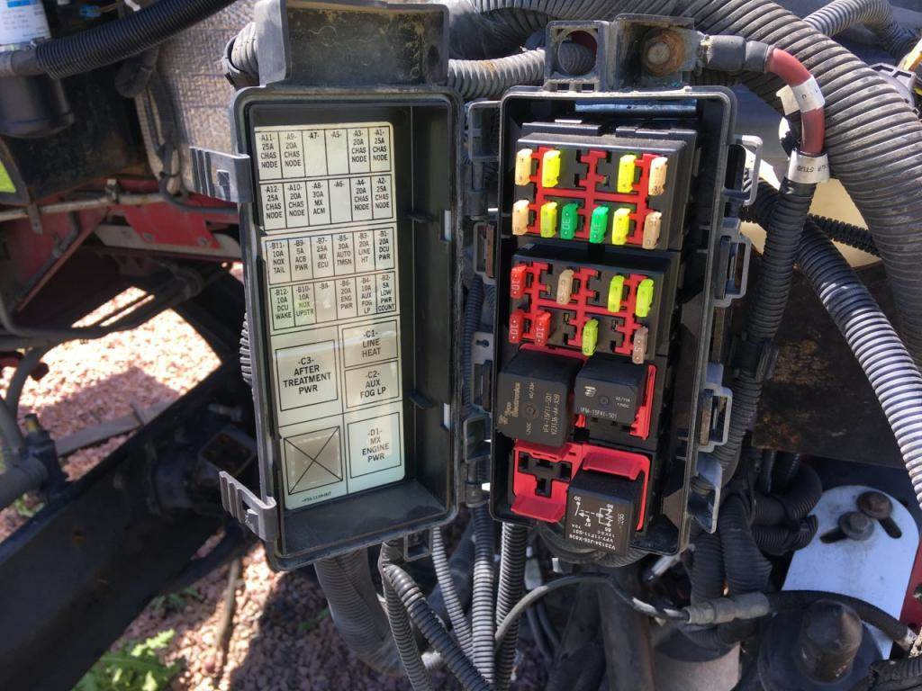 Diagram Of A 1980 Kenworth W900 Fuse Box