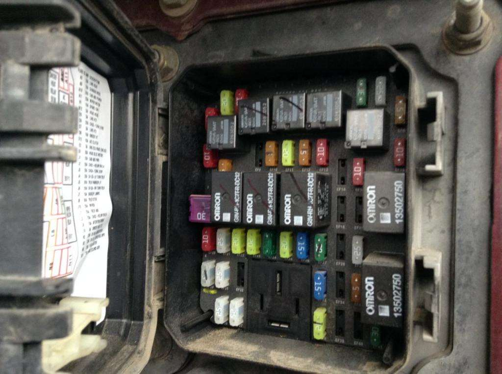 Fuse Boxes Panels Kenworth T680 8283714 2014 kenworth t680 fuse box for sale, 472,009 miles spencer, ia kenworth t660 fuse box location at bayanpartner.co