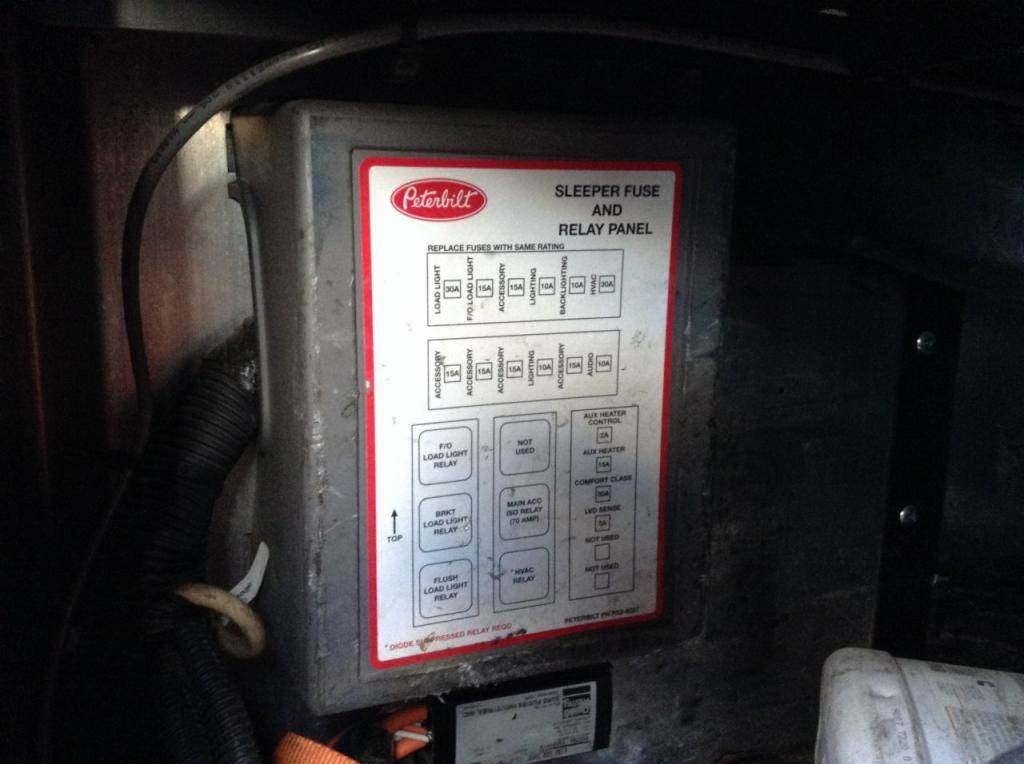 At 1353  2007 Peterbilt 386 Fuse Box Diagram