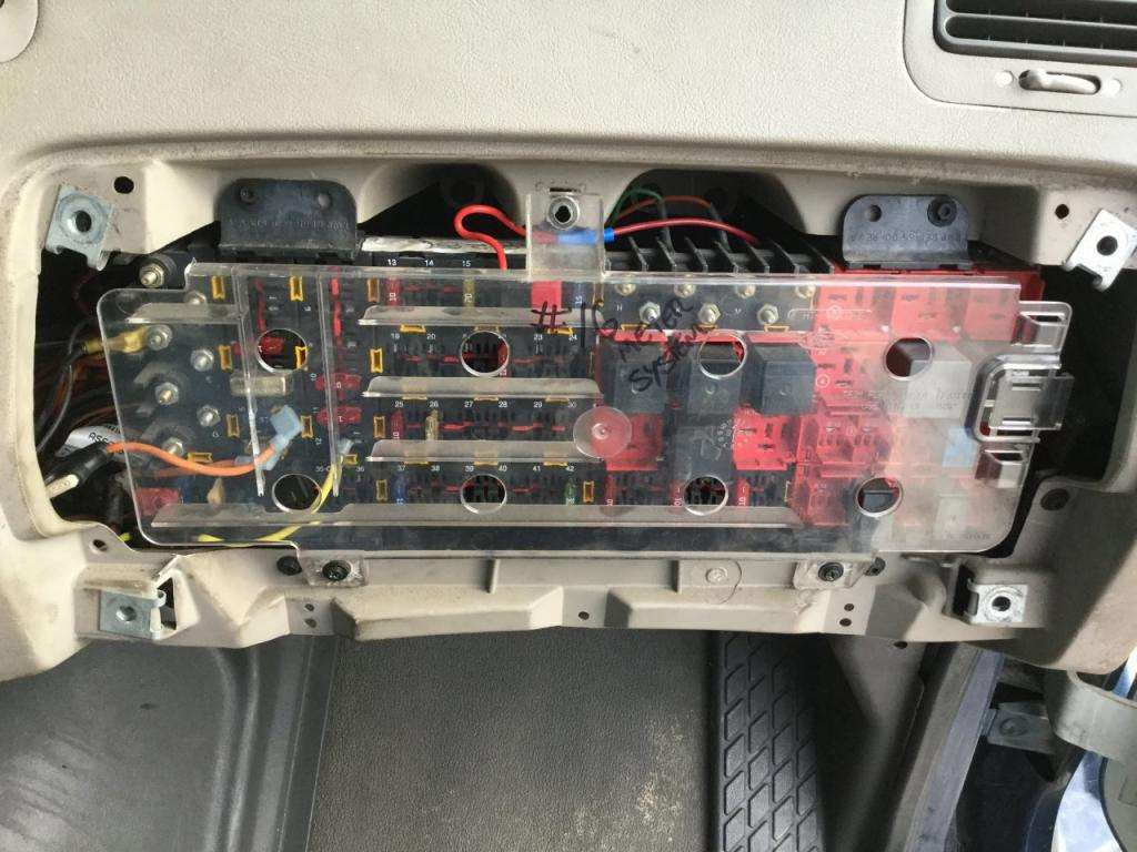 2001 sterling acterra 5500 fuse box for sale