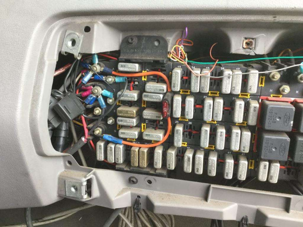 Sterling Tractor Fuse Box Wiring Diagram Will Be A Thing 1999 Freightliner Panel L7501 For Sale Spencer Ia Classic Cascadia