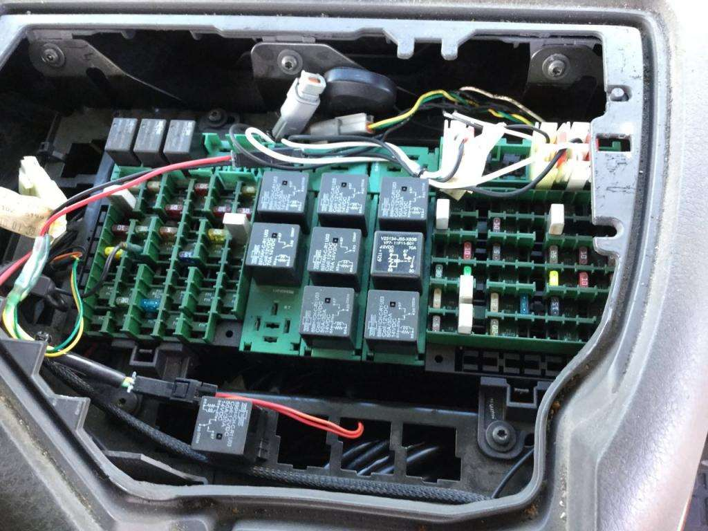 2007 volvo vnl fuse box for sale spencer ia 24594573. Black Bedroom Furniture Sets. Home Design Ideas