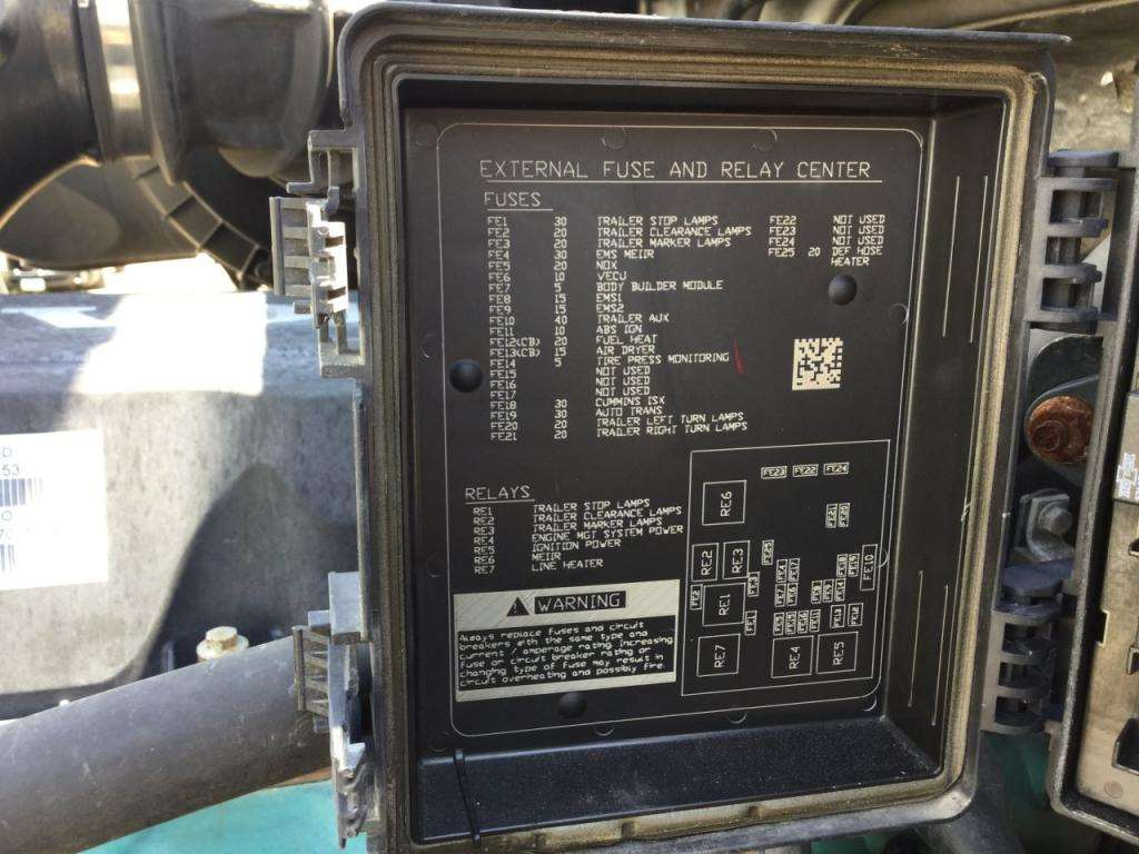 Volvo Vnl Fuse Panel Cover