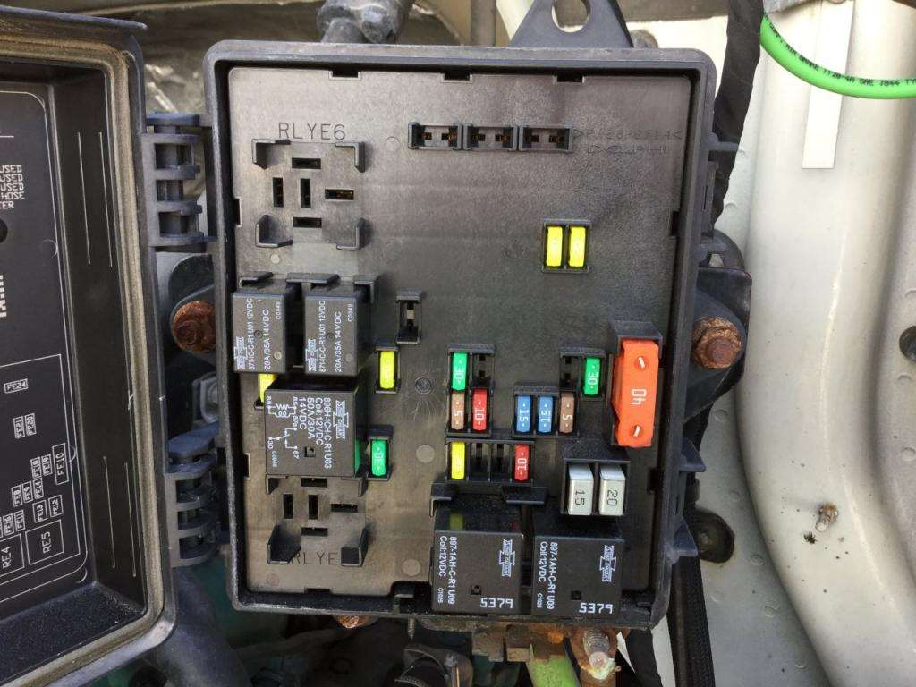 2011 volvo vnl fuse box for sale spencer ia 24598431. Black Bedroom Furniture Sets. Home Design Ideas