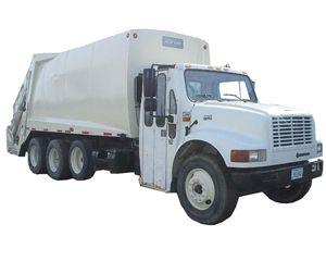 International 4900 Garbage Truck