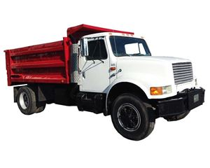 International 4900 Heavy Duty Dump Truck