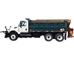 International 7400 Heavy Duty Dump Truck