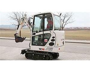Terex TC16 Mini Excavator