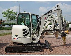 Terex TC37 Mini Excavator