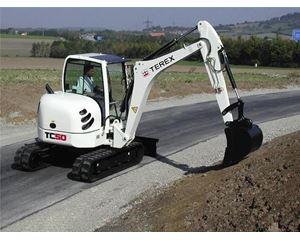 Terex TC50 Mini Excavator