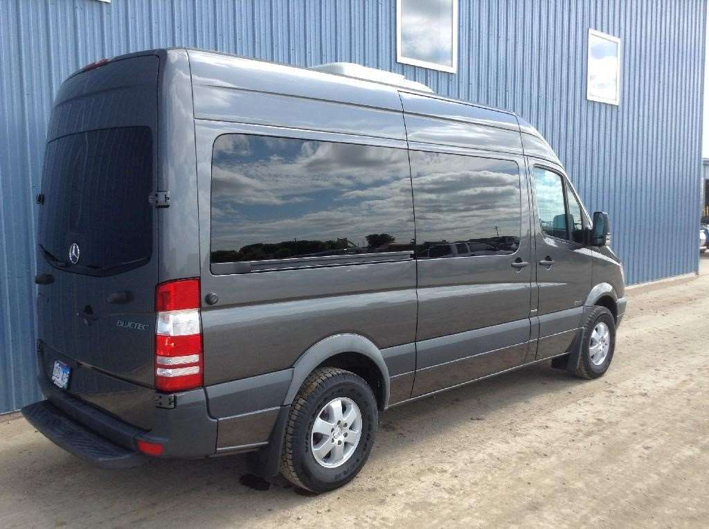 2011 mercedes benz sprinter 2500 passenger van box truck for sale 43 001 miles spencer ia. Black Bedroom Furniture Sets. Home Design Ideas