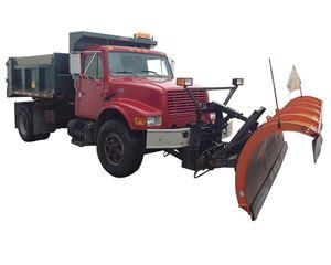 International 4700 Plow / Spreader Truck